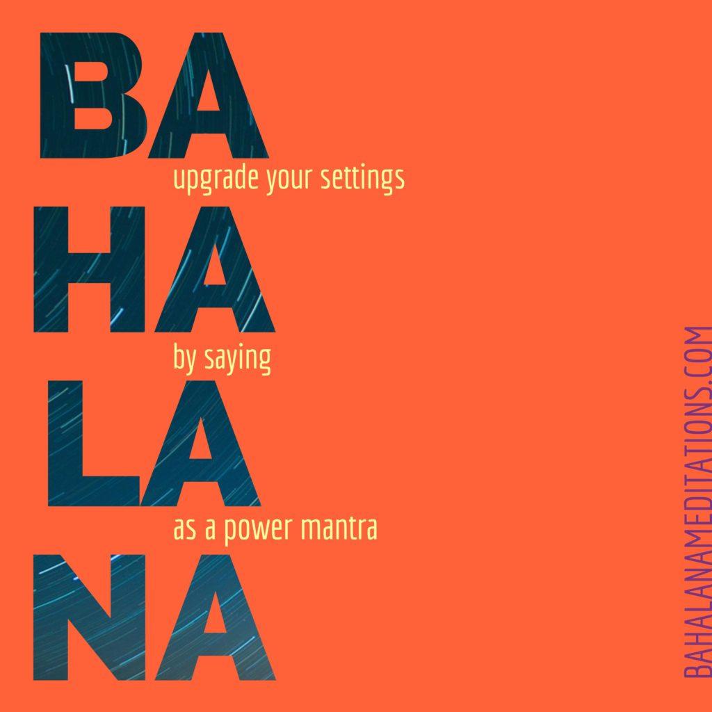 Upgrade your settings, say Bahala Na as a power mantra. bahalanameditations.com