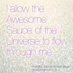 Let the Awesome Sauce of the Universe flow. #beautifulyoucandohardthings #Magandakayamoyan