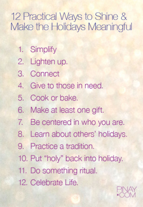 December - 12 Ways to Sparkle and Make the Holidays More Meaningful- bagongpinay.com