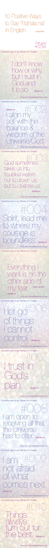 """10 Positive, Empowering Ways to say """"Bahala Na"""" in English. BagongPinay"""
