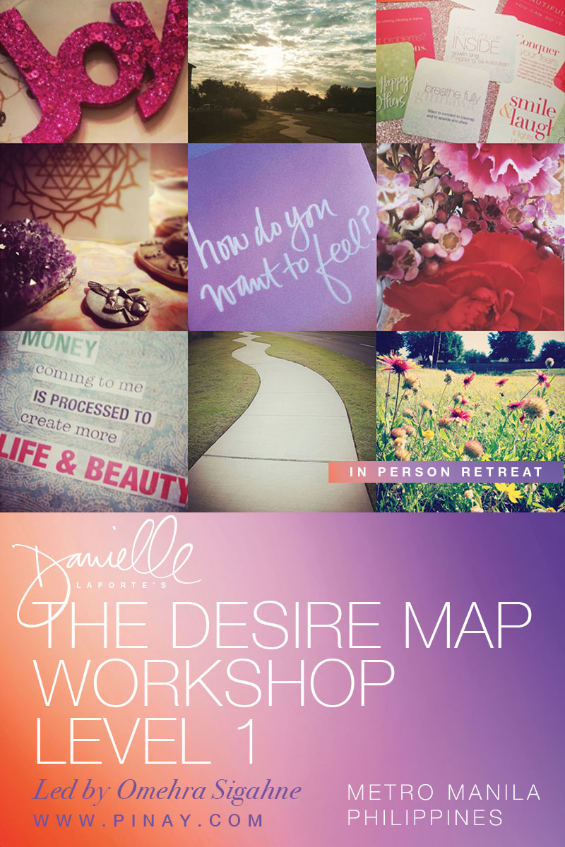 The Desire Map, presented by Omehra Sigahne and Pinay.com