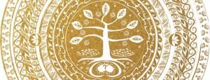 Babaylan Mandala - Gold, by Perla Daly