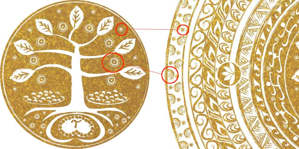 Babaylan Mandala symbolism - as above, so below, the macrocosm is in the microcosm, as within, so without...
